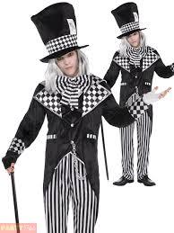 mens totally mad hatter costume dark alice halloween fancy