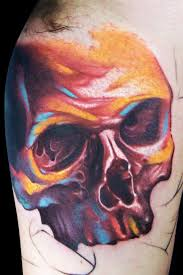 12 colorful skull tattoos by maximo lutz design of tattoosdesign