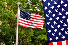Flag Placement How To Hang An American Flag Vertically Synonym
