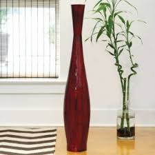 Tall Red Vases Cheap Tall Metal Floor Vases Foter