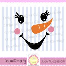 snowman faces thanksgiving turkey snowman svg