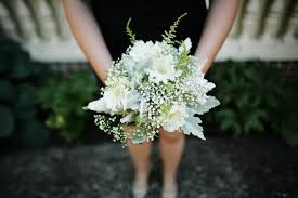 White Wedding Bouquets All White Wedding Flowers We Adore