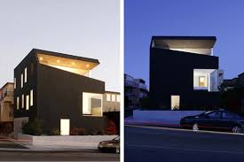 Minimalist Home Design in California  Open House Concept