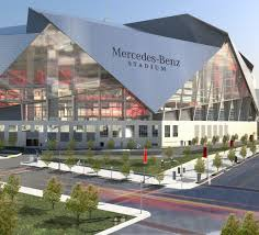 no delays expected for mercedes benz stadium football slate