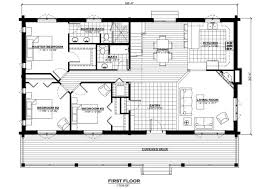 first floor in spanish the spanish peaks log home floor plan everlog systems