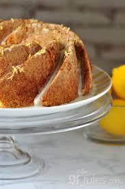 gluten free lemon pound cake recipe gfjules