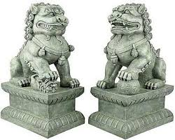 fu dog statues pin by beeles on home is where the imagination is
