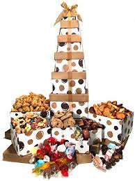 thank you gift baskets thank you gift basket box tower 6 tier grocery