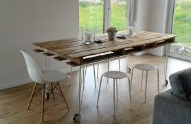 industrial dining table on wheels s