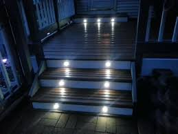 solar led deck step lights mini led landscape lights led step lights white trimmed mini round
