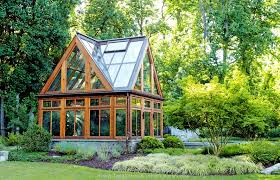 Backyard Green House by Custom Modern Greenhouse Tanglewood Conservatories Tanglewood