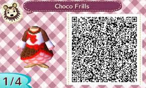 acnl chocolate frills valentine u0027s day dress qr code sosostris com