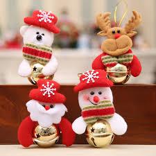 New Year Ornaments Craft 1pcs Santa Dolls Gifts Pendant Sale Tree Decorations