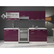 meuble de cuisine aubergine meuble cuisine aubergine idées de design maison faciles