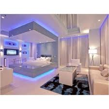 cool bedroom decorating ideas 26 futuristic bedroom designs blue led lights white rooms and