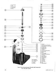 mercury 500 thunderbolt 1970 50 hp gear case no oil page 1
