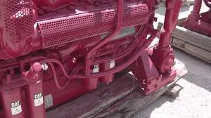 caterpillar 3412 dit fire pump engine youtube