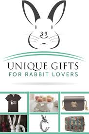 best unique gifts and gift ideas for rabbit lovers and bunny