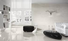 Black And White Chair And Ottoman Design Ideas Living Room Contemporary White Living Room Design Ideas