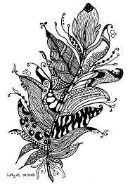 zentangle by cathym 11 zentangle coloring pages for adults
