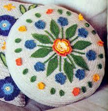Crochet Home Decor Patterns by Crochet Pattern 3 Pillows Crochet Cushion Home Decor Pattern