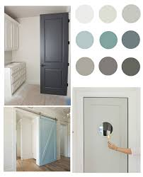 What Color To Paint Interior Doors | pretty interior door paint colors to inspire you