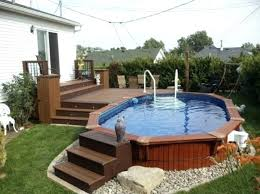 enclosed above ground pool pool steps for above ground pool