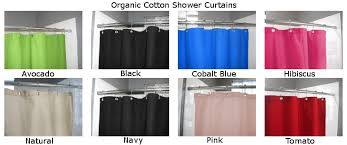 Organic Cotton Curtains Bean Products Inc Cotton Shower Curtain