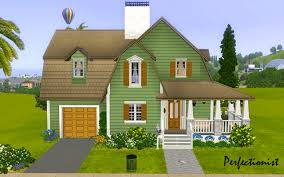 country style house mod the sims u00273 bedroom green country style house u0027 ts3 remake