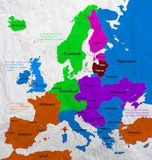 Map Of Germany In Europe by Had Time To Kill So Here U0027s A Map Of The Different Names For