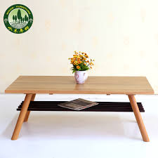 Japanese Style Coffee Table Mizuki Japanese Style Coffee Table In Birch Wood American White