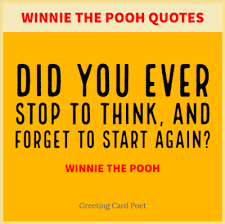 winnie pooh quotes funny u0026 famous greeting card poet
