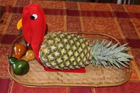 thanksgiving turkey centerpiece thanksgiving centerpiece felt turkey pineapple decor