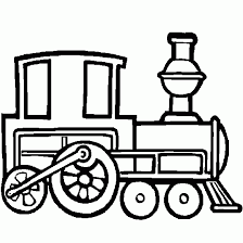 coloring kids steam train cars vehicles coloring print