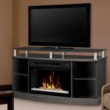 fireplace media console binhminh decoration