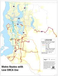 Seattle Mass Transit Map by Metro U0027s Plans For Increasing Access To Orca