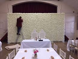 wedding backdrop london wedding flower wall backdrop hire only 449 10ft x 20ft wide free
