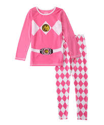 girls halloween pajamas power rangers power rangers pink ranger pajamas girls kids