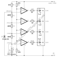 voltmeter with led for car battery circuit diagram world