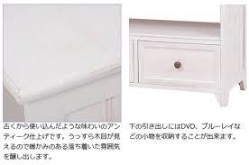 small white tv cabinet interior palette rakuten global market tv stand shabby wood