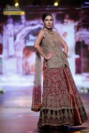 aisha s bridal aisha imran bridal collection at bridal couture week gold 3 1000