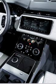 new land rover interior land rover range rover velar