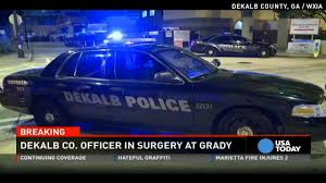 ga cop shot after police go to wrong house