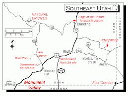 Cedar City Utah Map by Map Of Blanding Utah New York Map