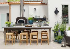 8 outdoor kitchens that make al fresco dining dreams come true via house beautiful