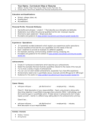 resume examples for jobs with little experience sample resume
