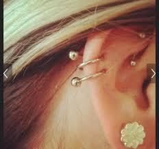 earrings for cartilage 50 cartilage hoops earrings cartilage earrings amazoncom