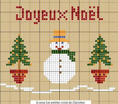 noël christmas point de croix cross stitch blog http