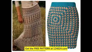 crochet christmas tree skirt patterns youtube