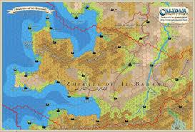 Map Of Al Al Barami And Jhufar Hex Maps Patreon U2013 Thorfinn Tait Cartography